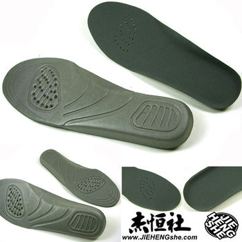 JHS杰恆社鞋墊款113舒適蝶翼鞋墊小碼39383736長23.8cm厚0.4cm全墊EVA一體成型透氣孔