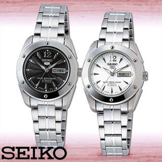【SEIKO 精工】日製盾牌五號波紋面盤機械女錶(SYMH77J1-SYMH79J1)