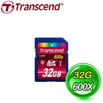 Transcend 創見 32G SDHC UHS-I 600X (C10) 記憶卡