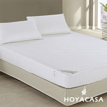【HOYACASA】天絲抗菌透氣防水床包式保潔墊 雙人5x6.2尺