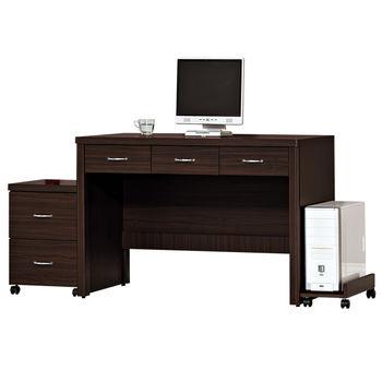 【時尚屋】[G15]艾力森胡桃色4尺電腦桌225-3
