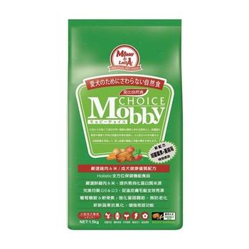 【Mobby】莫比 小型成犬 雞肉米 自然食飼料 7.5公斤 X 1包