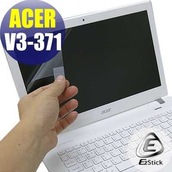 【EZstick】ACER Aspire V13 V3-371 專用 靜電式筆電LCD液晶螢幕貼 (霧面螢幕貼)