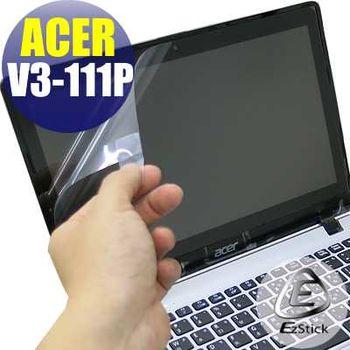 【EZstick】ACER Aspire V11 V3-111P (特殊規格) 專用 靜電式筆電LCD液晶螢幕貼 (鏡面防汙螢幕貼)