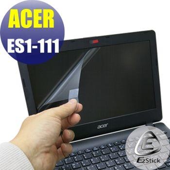 【EZstick】ACER Aspire E11 ES1-111 專用 靜電式筆電LCD液晶螢幕貼 (鏡面螢幕貼)