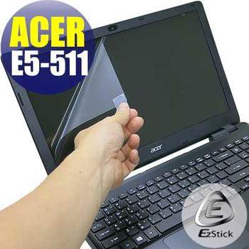 【EZstick】ACER Aspire E15 E5-511 專用 靜電式筆電LCD液晶螢幕貼 (鏡面螢幕貼)