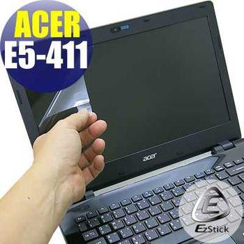 【EZstick】ACER Aspire E14 E5-411 專用 靜電式筆電LCD液晶螢幕貼 (鏡面螢幕貼)