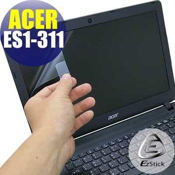 【EZstick】ACER Aspire E13 ES1-311 專用 靜電式筆電LCD液晶螢幕貼 (霧面螢幕貼)