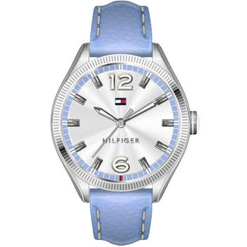 TOMMY HILFIGER 浪漫城市時尚腕錶-銀  M1781518