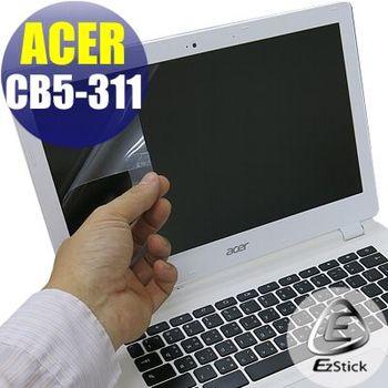 【EZstick】ACER Chromebook CB5-311 專用 靜電式筆電LCD液晶螢幕貼 (霧面螢幕貼)