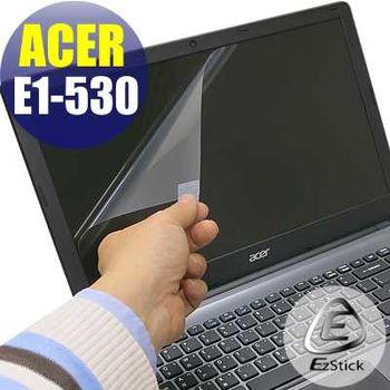 【EZstick】ACER Aspire E1-530 專用 靜電式筆電LCD液晶螢幕貼 (霧面螢幕貼)