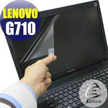【EZstick】Lenovo IdeaPad G710 專用 靜電式筆電LCD液晶螢幕貼 (鏡面螢幕貼)