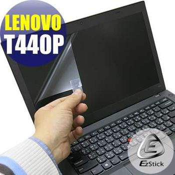 【EZstick】Lenovo ThinkPad T440P 專用 靜電式筆電LCD液晶螢幕貼 (鏡面螢幕貼)
