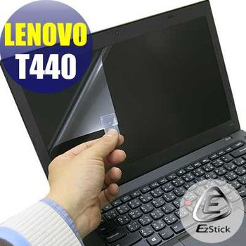 【EZstick】Lenovo ThinkPad T440  專用 靜電式筆電LCD液晶螢幕貼 (鏡面螢幕貼)