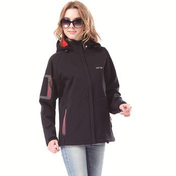 【SAIN SOU】防水/防風/透氣/保暖+可拆式防風帽外套(中性款)T27312-01
