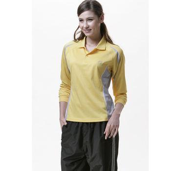 【SAIN SOU】吸濕排汗長袖POLO衫T16201