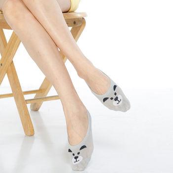 【KEROPPA】吸濕/止滑/減壓竹炭隱形襪*6雙(男女適用)C503-1-灰色