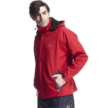【SAIN SOU】防水/防風/透氣/保暖+可拆式防風帽外套(中性款)T27312-03