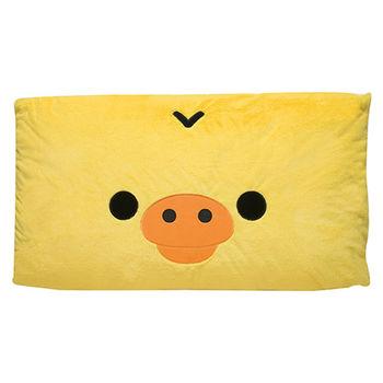 San-X 拉拉熊滿滿懶熊生活系列超柔軟雙人睡枕 小雞