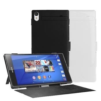 SONY Xperia Z3手機(D6653)專用皮套型背殼電池(3200mA)