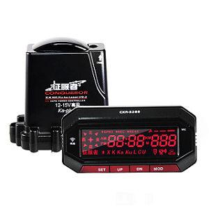 【征服者】GPS CXR-5288 雲端服務 分離式 全頻雷達測速器