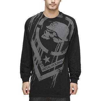 【摩達客】美國進口【Metal Mulisha】超酷骷髏標誌長袖T恤