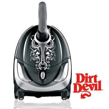 All New DirtDevil TATTOO 巴洛克時尚圖騰吸塵器(奢華黑)