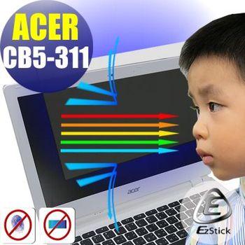 【EZstick】ACER Chromebook CB5-311 筆電專用 防藍光護眼 鏡面螢幕貼 靜電吸附 (鏡面螢幕貼)