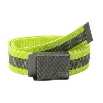 【Nike】2015金屬旋風標誌棉軟織帶黃黑兩用皮帶(預購)