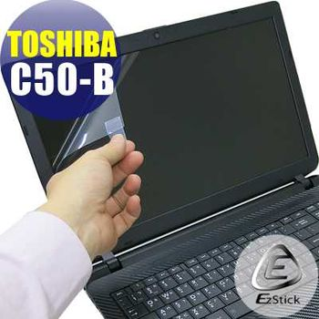 【EZstick】TOSHIBA Satellite C50-B 專用 靜電式筆電LCD液晶螢幕貼 (霧面螢幕貼)