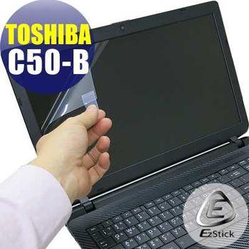 【EZstick】TOSHIBA Satellite C50-B 專用 靜電式筆電LCD液晶螢幕貼 (鏡面螢幕貼)