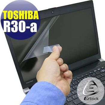 【EZstick】TOSHIBA Portege R30-A 專用 靜電式筆電LCD液晶螢幕貼 (鏡面螢幕貼)