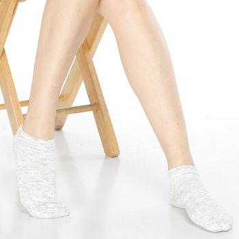 【KEROPPA】可諾帕網狀造型短襪x4雙(男女適用)C97003棕灰