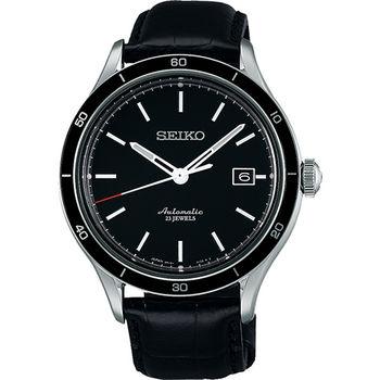 SEIKO 6R15-23石都會機械腕錶-黑 6R15-02V0A(SARG017J)