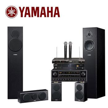 【YAMAHA】達人級高質感家庭KTV歡唱喇叭組合