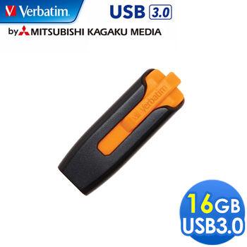 Verbatim 威寶 V3 16GB USB3.0 高速隨身碟 橘黑