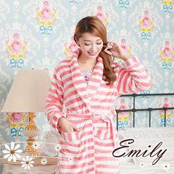 Elf Alice經典條紋法蘭絨睡袍