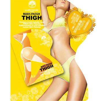黎得芳 纖體窈窕曲線緊膚精華 芳少女Style纖纖美腿膜5入+1元多一件福袋組