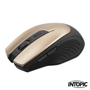 INTOPIC 廣鼎-2.4GHz飛碟無線光學鼠 MSW-610