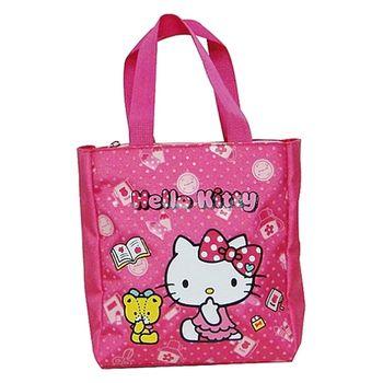 Hello Kitty小熊直式小手提袋