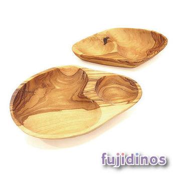 Fujidinos【Paster Kamp】橄欖木分隔碗