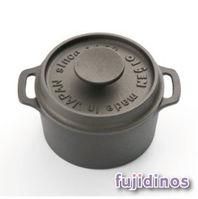 Fujidinos~及源鑄造~鑄鐵迷你烤鍋‧10cm圓型款