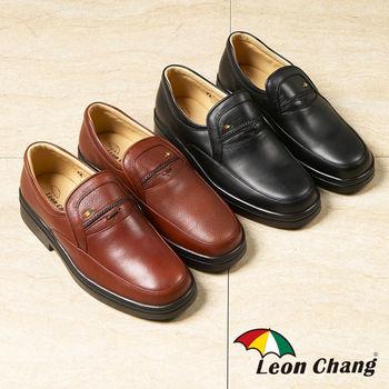 【Leon Chang 】MIT紳士牛皮氣墊鞋