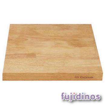 Fujidinos【la base有元葉子】橡膠天然木砧板‧兩件組