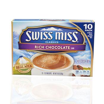 【Swiss Miss】瑞士小妞香純巧克力粉 (28g*100包)