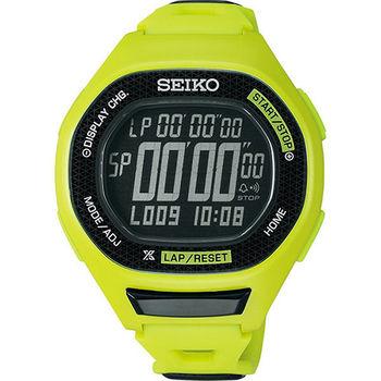 SEIKO PROSPEX Runner 運動玩家電子腕錶-綠 S611-00A0E(SBEG005J)