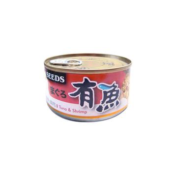 【SEEDS】聖萊西 有魚貓餐罐-鮪魚+鮮嫩雞肉 170G x 48入