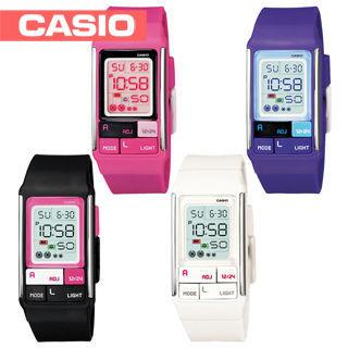 【CASIO 卡西歐】日系紀念版時尚女孩POP腕錶(LDF-52)
