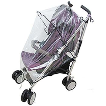 月陽通用型超厚兒童推車防雨罩防風罩遮雨罩(P100B)