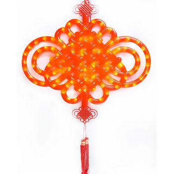 【農曆春節特選】大中國結LED燈串吊飾 (附控制器)